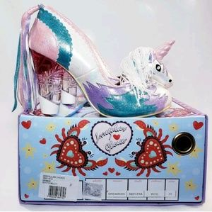 Rare! Irregular Choice Unicorn Heels, Size 7